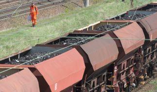 Beim Herumklettern auf einem abgestellten Güterwaggon erlitt ein 15 Jahre altes Mädchen auf dem Bahnhof Leipzig-Plagwitz einen tödlichen Stromschlag (Symbolfoto). (Foto)