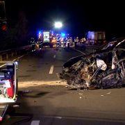 Geisterfahrer (84) stirbt bei Unfall nahe Osnabrück (Foto)