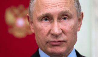 Der russische Präsident Wladimir Putin geht am 18. März bei der Präsidentschaftswahl an den Start. (Foto)