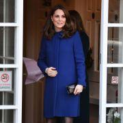 In den Wehen? Herzogin Kate in Geburtsklinik (Foto)