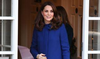 Kate Middleton erwartet im April ihr drittes Kind. (Foto)