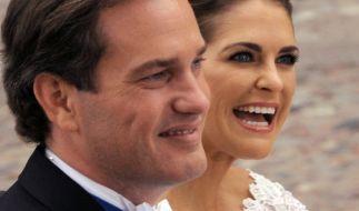 Prinzessin Madeleine (rechts) und Ehemann Chris O'Neill erwarten im März 2018 ihr drittes gemeinsames Kind. (Foto)