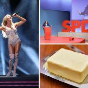 Butter wird teurer // Helene Fischer dreht durch // SPD-Mitgliedervotum endet (Foto)