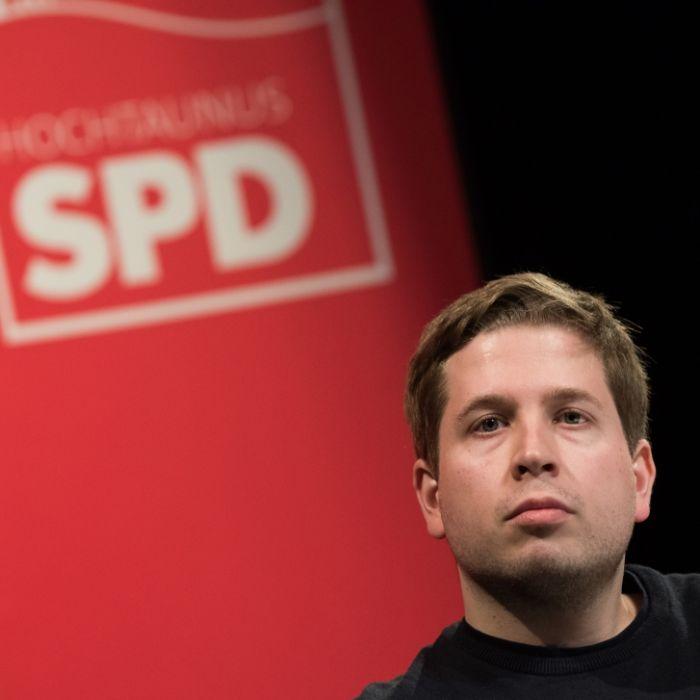 Kevin Kühnert ist SPD-Vize und kandidiert für den Bundestag. (Foto)