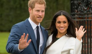 Prinz Harry und Meghan Markle heiraten am 19. Mai 2018. (Foto)