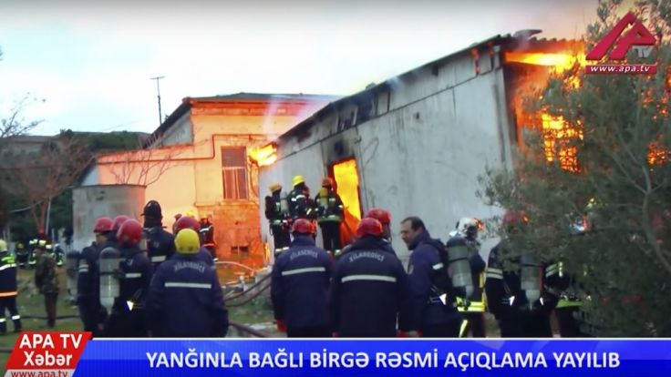 Aserbaidschan: Feuer in Drogenklinik tötet 24 Menschen