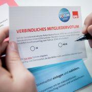 SPD zählt Stimmen aus - Bei Nein droht Neuwahl (Foto)