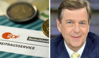 Claus Kleber findet den Preis für die öffentlich-rechtlichen Sender angemessen. (Foto)