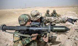 Die Bundeswehr soll zukünftig auch die irakische Armee ausbilden. (Foto)