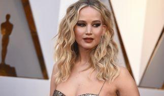 Jennifer Lawrence bei der Oscar-Verleihung 2018. (Foto)