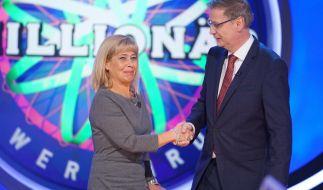 """Kandidatin Bettina McFarland musste lange warten, um bei Günther Jauch und """"Wer wird Millionär?"""" um die Million zu zocken. (Foto)"""
