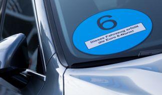 Das Umweltbundesamt fordert zwei Plaketten für Dieselautos. (Foto)