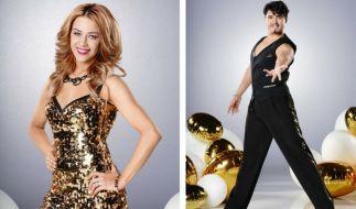 """Oana Nechiti und Erich Klann sind in der neuen Staffel """"Let's Dance"""" wieder dabei. (Foto)"""