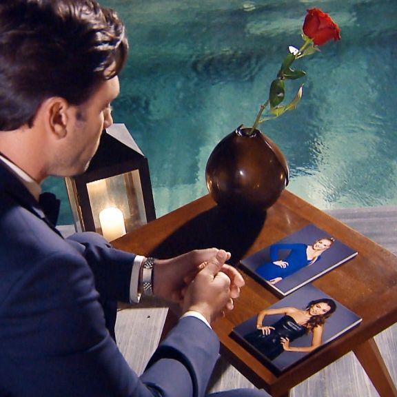 Kristina Yantsen bekommt die letzte Rose von Daniel Völz (Foto)