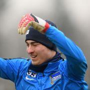Große Ziele! Klinsi junior will Stammtortwart bei Hertha BSC werden (Foto)