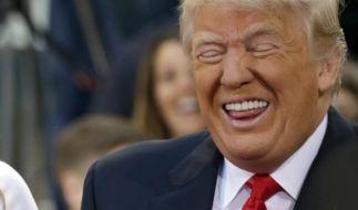 Donald Trump machte sich über Melania lustig. (Foto)