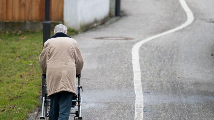Vor allem ältere Frauen sind besonders von Armut betroffen.