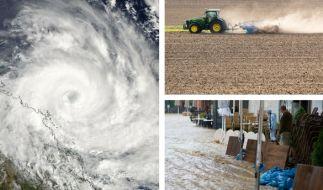 Wetterextreme, wie Überschwemmungen und Dürre, nehmen laut Klimaforschern in den kommenden Jahren weiter zu. (Foto)