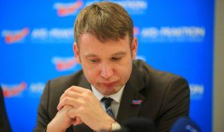André Poggenburg stolperte über seine diskriminierende Rede und tritt zurück. (Foto)