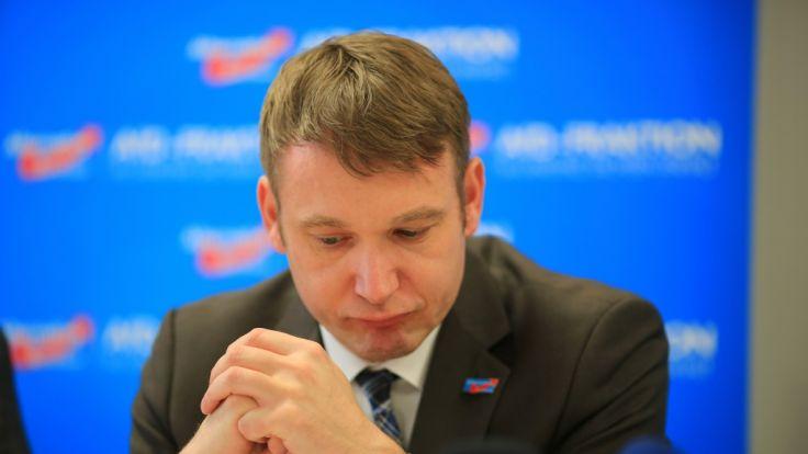 André Poggenburg stolperte über seine diskriminierende Rede und tritt zurück.