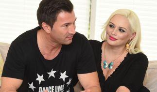 Sänger Lucas Cordalis mit seiner Frau Daniela Katzenberger. (Foto)