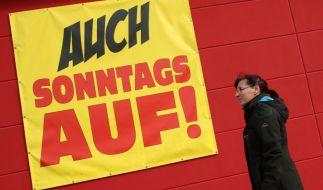 Auch am Sonntag, dem 11.03.2018, locken zahlreiche Geschäfte in Deutschland mit Sonntagsöffnungen (Symbolfoto). (Foto)