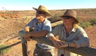 Konny und Manu wagen das Abenteuer Australien und werden drei Wochen lang mit einem riesigen Wohnmobil durch das Outback düsen. (Foto)