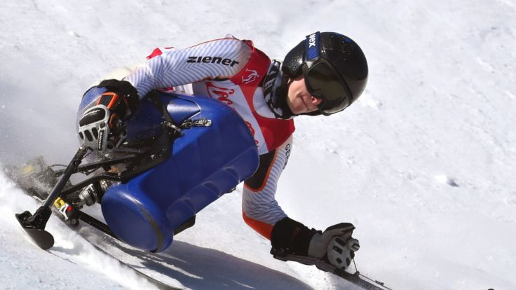 Anna Schaffelhuber bei den Paralympics 2018. (Foto)