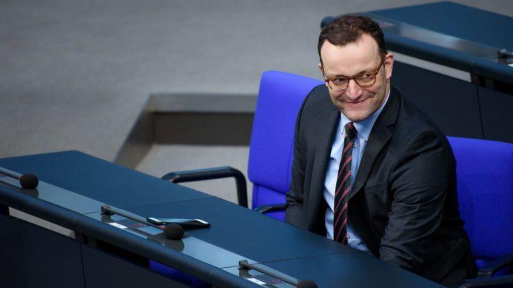 Jens Spahn sorgt mit seiner Aussage über Hartz-IV für Kontroversen. (Foto)