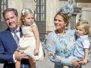 Prinzessin Madeleine von Schweden und Chris O'Neill haben nach Prinzessin Leonore und Prinz Nicolas ihr drittes gemeinsames Kind willkommen geheißen. (Foto)