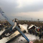 Flugzeugunglück in Kathmandu - mindestens 49 Tote (Foto)