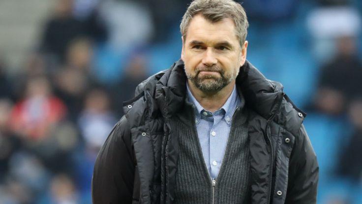 Der HSV hat sich von Trainer Hollerbach getrennt.