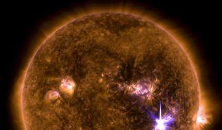 Trifft am Wochenende ein Sonnensturm auf die Erde? (Foto)