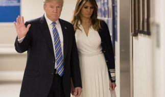 Melania Trump leidet unter den Affärengerüchten. (Foto)