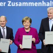 Union und SPD besiegeln Neuauflage der großen Koalition (Foto)