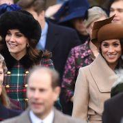 Kate Middleton und Meghan Markle dürfen sich ab Mai 2018 offiziell als Schwägerinnen vorstellen.
