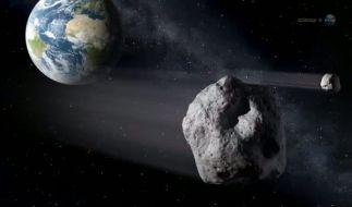 Gleich fünf Asteroiden donnern in dieser Woche Richtung Erde. (Foto)
