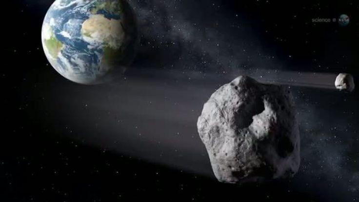 Gleich fünf Asteroiden donnern in dieser Woche Richtung Erde.