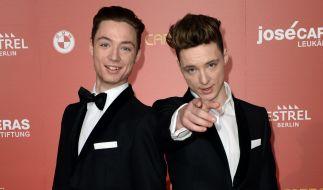 """Die Zwillinge Roman (li.) und Heiko Lochmann, besser bekannt als """"Die Lochis"""", sind YouTube-Stars und Teilnehmer in der 11. Staffel von """"Let's Dance"""". (Foto)"""