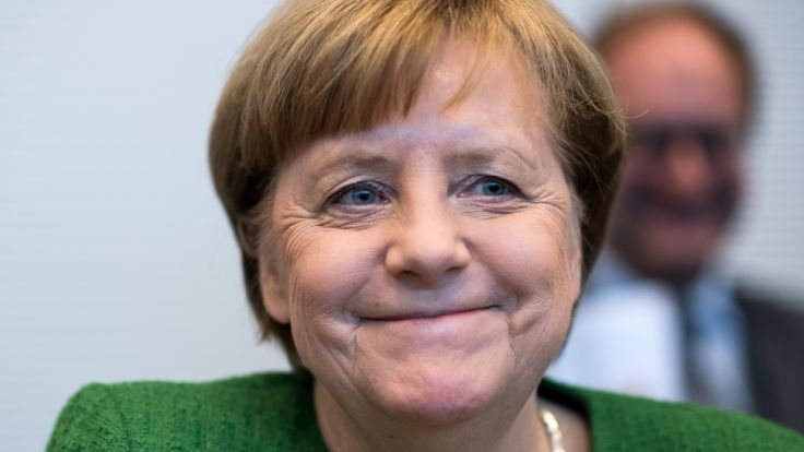 Merkel wurde zum vierten Mal zur Kanzlerin gewählt.