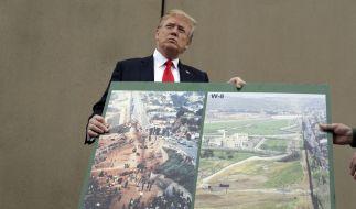 Donald Trump will endlich die Mauer zu Mexiko bauen. (Foto)