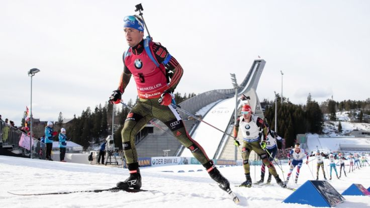 Biathlon-Weltcup am Holmenkollen Dahlmeier läuft Staffel auf Platz 2