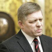 Slowakischer Regierungschef Fico bietet Rücktritt an (Foto)