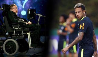 Nach einem geschmacklosen Posting zum Tod von Stephen Hawking wird Neymar im Internet zerfetzt. (Foto)