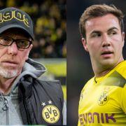 Stöger platzt der Kragen! BVB-Trainer wütet gegen Mario Götze (Foto)