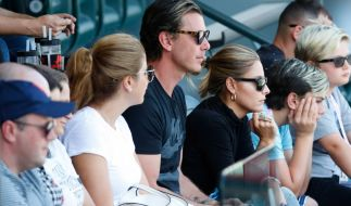 Sophia Thomalla und Gavin Rossdale bei einem gemeinsamen Ausflug zum Tennis-Turnier nach Indian Wells. (Foto)