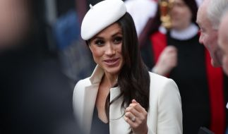 Meghan Markle will im Mai heiraten. (Foto)