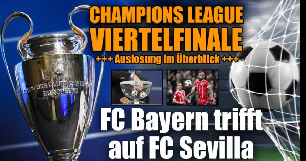 Champions League Auslosung 2018 heute: In TV, Live-Stream ...