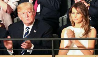 Scheidung im Weißen Haus. Was plant Melania? (Foto)