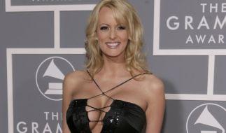 """Pornodarstellerin Stephanie Clifford alias """"Stormy Daniels"""" will in einem TV-Interview über ihre Affäre mit US-Präsident Donald Trump auspacken. (Foto)"""